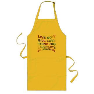 Rules Of Life Long Apron