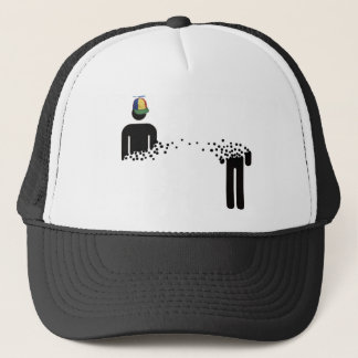 Rules of Teleportation Trucker Hat