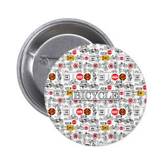 Rules of the Road 6 Cm Round Badge