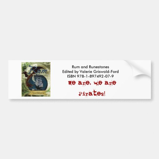 Rum and Runestone Paper Products Bumper Stickers