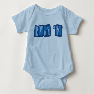 Rum 'n, English, Yorkshire Slang Bodysuit