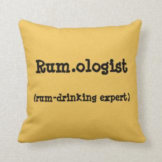 Rum.ologist Throw Pillow