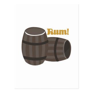 Rum! Postcard