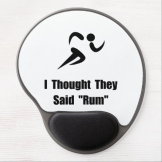 Rum Runner Gel Mouse Pad