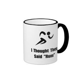 Rum Runner Ringer Mug