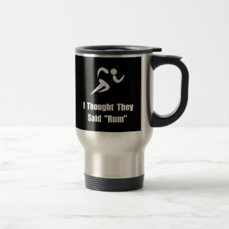 Rum Runner Stainless Steel Travel Mug