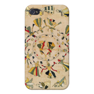Rumal: square embroidery cover showing Punjabi dan Covers For iPhone 4