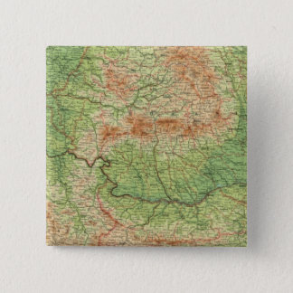 Rumania & adjacent states 15 cm square badge