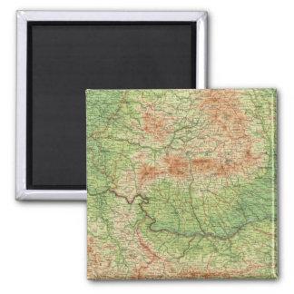 Rumania & adjacent states magnet