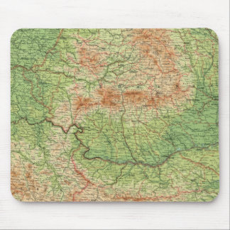 Rumania & adjacent states mouse mat