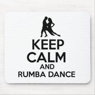 Rumba design mouse pad