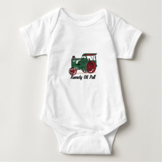 Rumely Oil Pull Tractor Baby Bodysuit