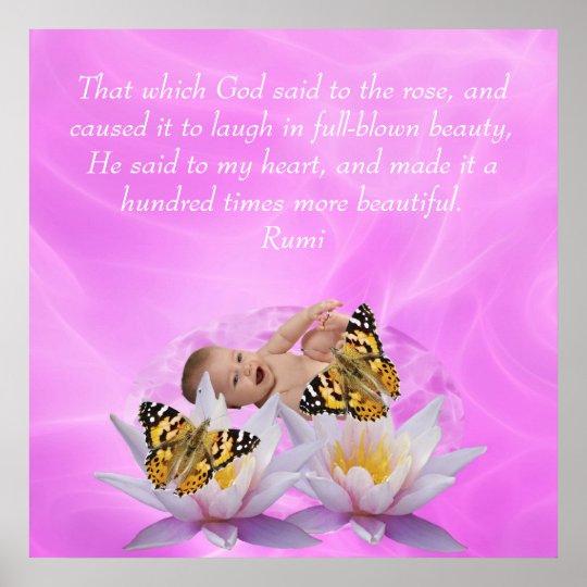 Rumi Beauty Poster