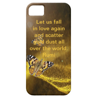 Rumi Fall in love again iPhone 5 Case