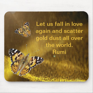 Rumi Fall in love again Mouse Pad