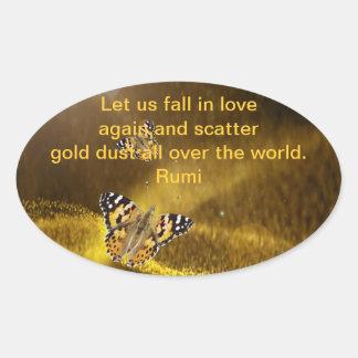 Rumi Fall in love again Stickers