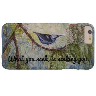 Rumi Quote Bird Watercolor Art  iPhone Case