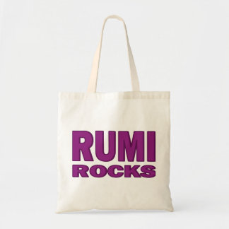Rumi Rocks Tote Bag