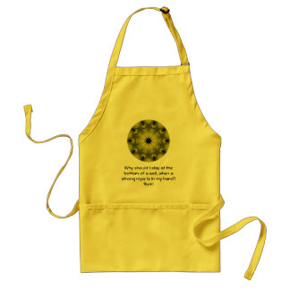 Rumi Taking Action Inspirational Quotation Saying Standard Apron