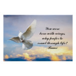 Rumi You were born with wings Posters