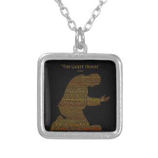 "Rumi's ""The Guest House"" Poem Necklace"