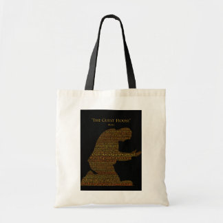 "Rumi's ""The Guest House"" Poem Totebag Budget Tote Bag"