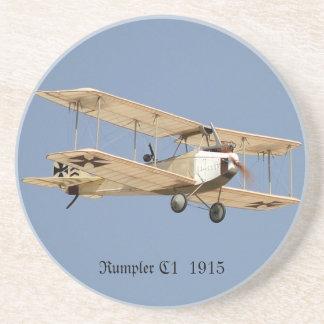 Rumpler C1 1915 Sandstone Coaster