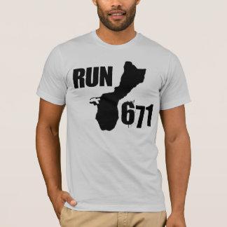 RUN 671 Large Logo T-Shirt