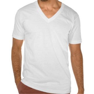 Run Aloha Men's American Apparel Fine Jersey V-Nk T Shirts
