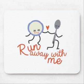 Run Away Mouse Pad