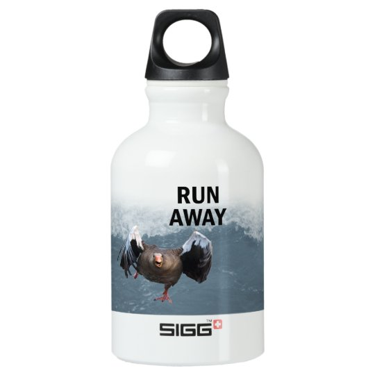 Run away water bottle