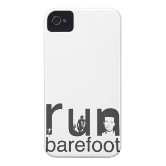 Run Barefoot - Abebe Bikila Tribute Case-Mate iPhone 4 Case