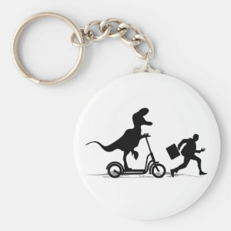 Run Bob Run Basic Round Button Key Ring