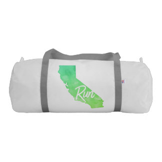 Run California Workout Bag Gym Duffel Bag