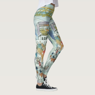 Run Chicago! Leggings