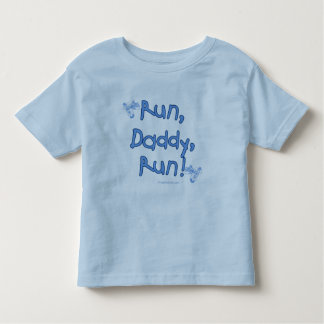 Run Daddy Run - Blue Toddler T-Shirt