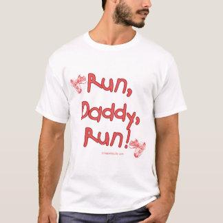 Run Daddy Run - Pink T-Shirt