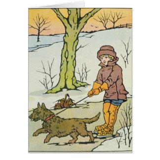 Run, Dandy Run, 20th century Card