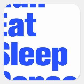 run-eat-sleep-repeat-ak-blue png square sticker