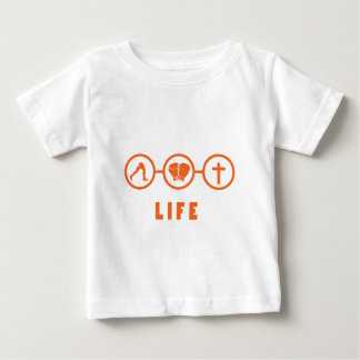 Run Fight Die - That's life! Baby T-Shirt