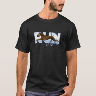 Run For Fun, Red Doberman T-Shirt