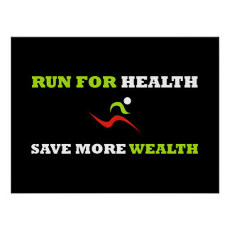 Run For Health (Poster) Poster