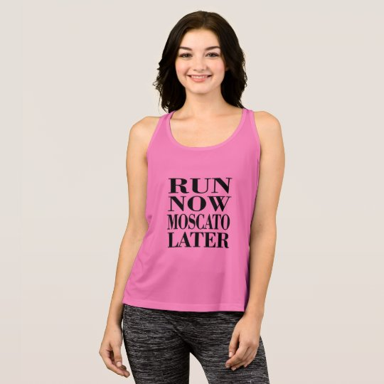 Run for Moscato Tank Top