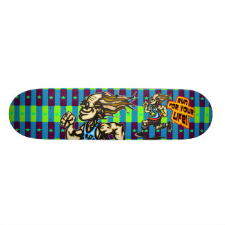 Run For Your Life 21.6 Cm Skateboard Deck