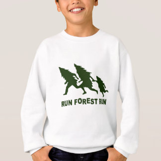 run forest run sweatshirt