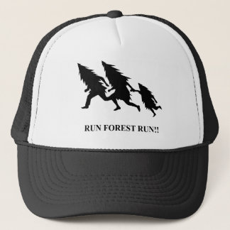 Run Forest Run Trucker Hat