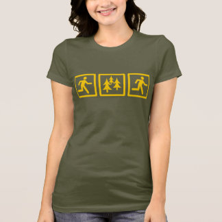 Run Forest Run Womens T-Shirt