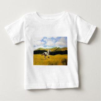 Run Free Baby T-Shirt