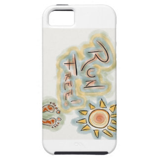 run free by brian iPhone 5 case