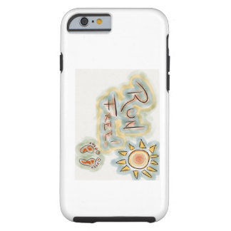 run free by brian tough iPhone 6 case